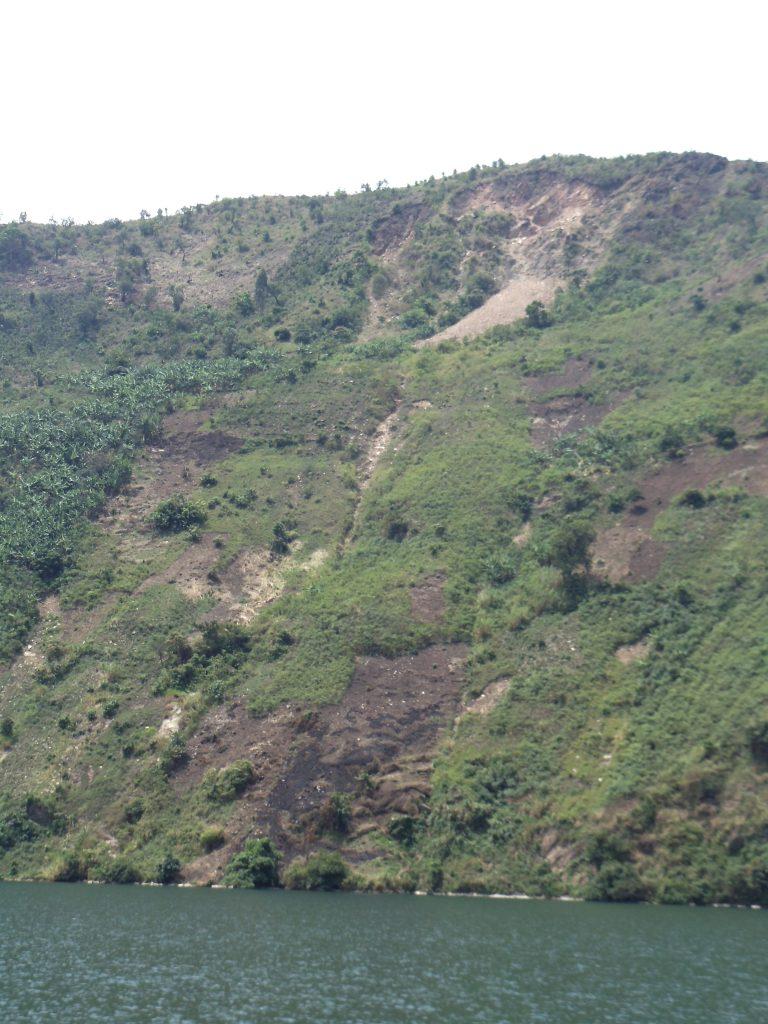 Lake Kivu Shoreline, DRC