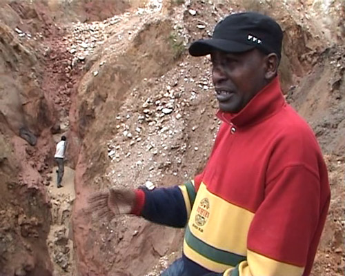 Artisanal Miner, Numbi, DRC